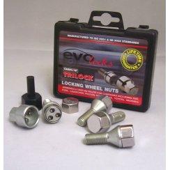 Evo locking wheel bolts M12 x 1.25 thread some Renault applications