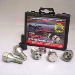 Evo locking wheel bolts M12 x 1.5 for Ford and Renault applications
