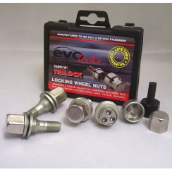 Evo locking wheel bolts M12 x 1.5 for Peugeot and Citroen applications