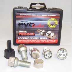 Evo locking wheel bolts M14 - VW/Audi/Seat fitment