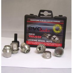 Evo locking wheel nuts M12 x 1.5 - Ford/Rover fitment
