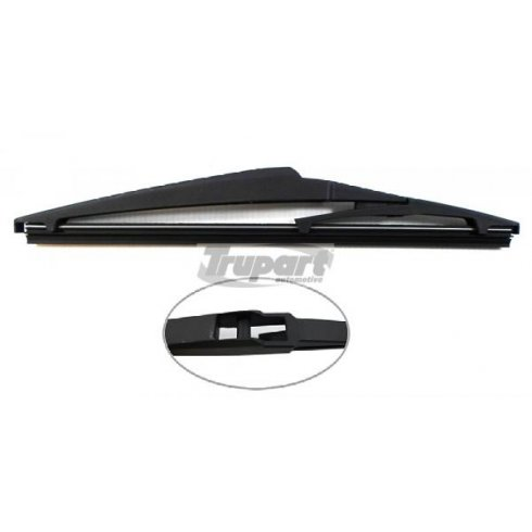 Trupart complete replacement rear wiper blade for Alto, Pixo