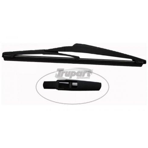 Trupart complete replacement rear wiper blade for IQ, Rio, Corolla Verso