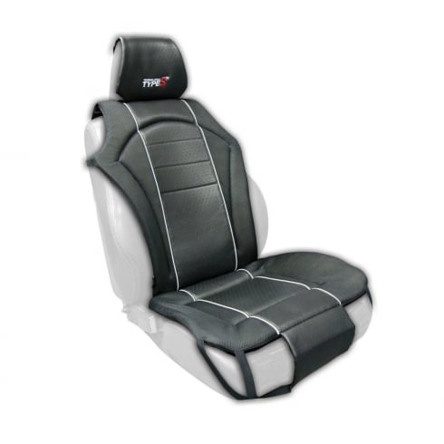 Type S Touring single black padded universal cushion seat cover
