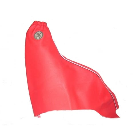 Vauxhall fine red leather hand brake gaiter for Vauxhall Astra G/MK4
