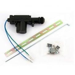 2-wire central locking motor with bracket.