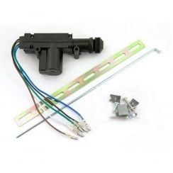 5-wire central locking motor with bracket.