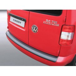 VW Caddy/Maxi rear guard bumper protector May 2004 to May 2015 ( models with painted bumpers)