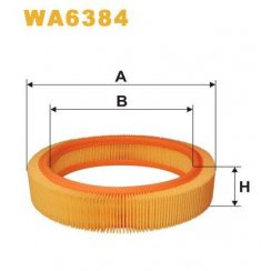 WA6384 Vauxhall Nova; Corsa B air filter element