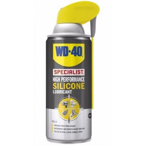 WD40 High performance silicon lubricant with smart straw top