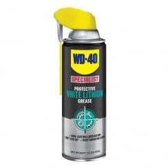 white lithium grease spray