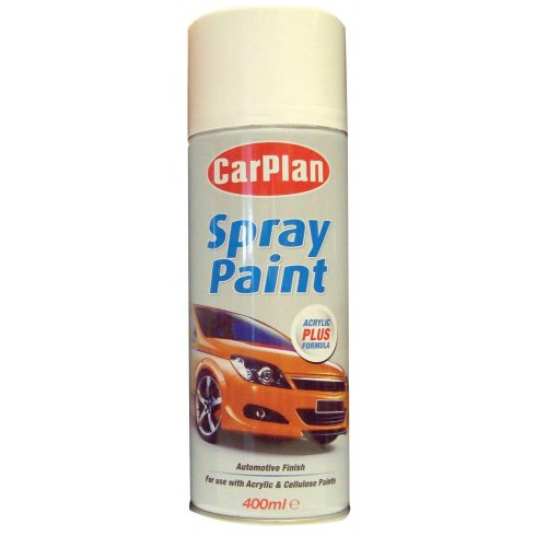 Carplan White primer spray paint - 400ml