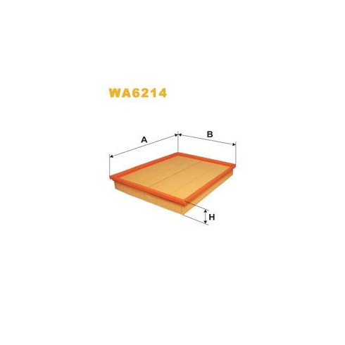 Wix Filters Wix WA6214 air filter - Vauxhall Astra