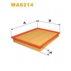 Wix WA6214 air filter - Vauxhall Astra