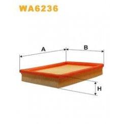 Wix WA6236 air filter - Vauxhall Corsa / Tigra