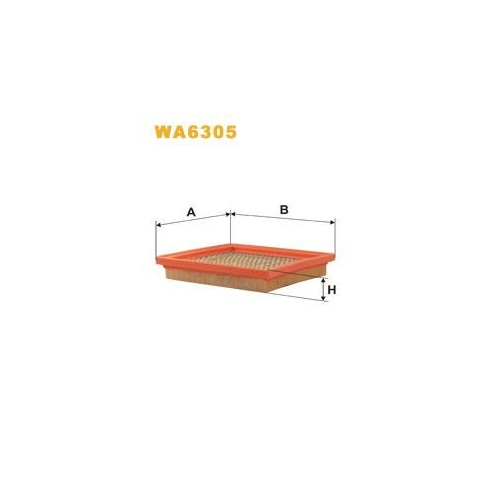 Wix Filters Wix WA6305 air filter - Nissan Micra