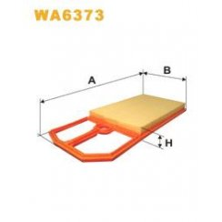 Wix WA6373 air filter - VW Golf MK4 1.4 / Lupo 1.4