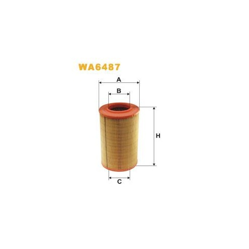 Wix WA6487 air filter - Fiat Ducato 2.5 TDi