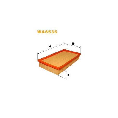 Wix WA6535 air filter - Ford Focus