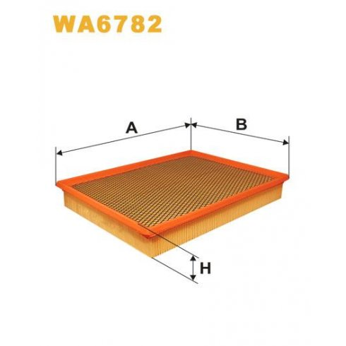 Wix WA6782 air filter Vauxhall Vectra C