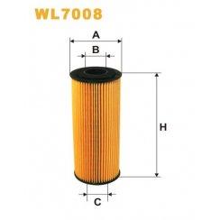 WL7008 Wix oil filter Audi A3 / Skoda Octavia / VW Golf Mk 4