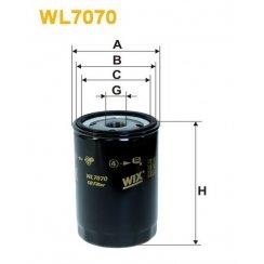 WL7070 Wix oil filter Audi / Seat