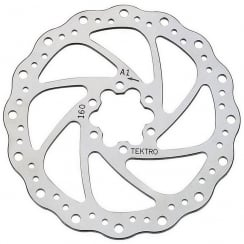XLC 160mm disc brake rotor with bolts